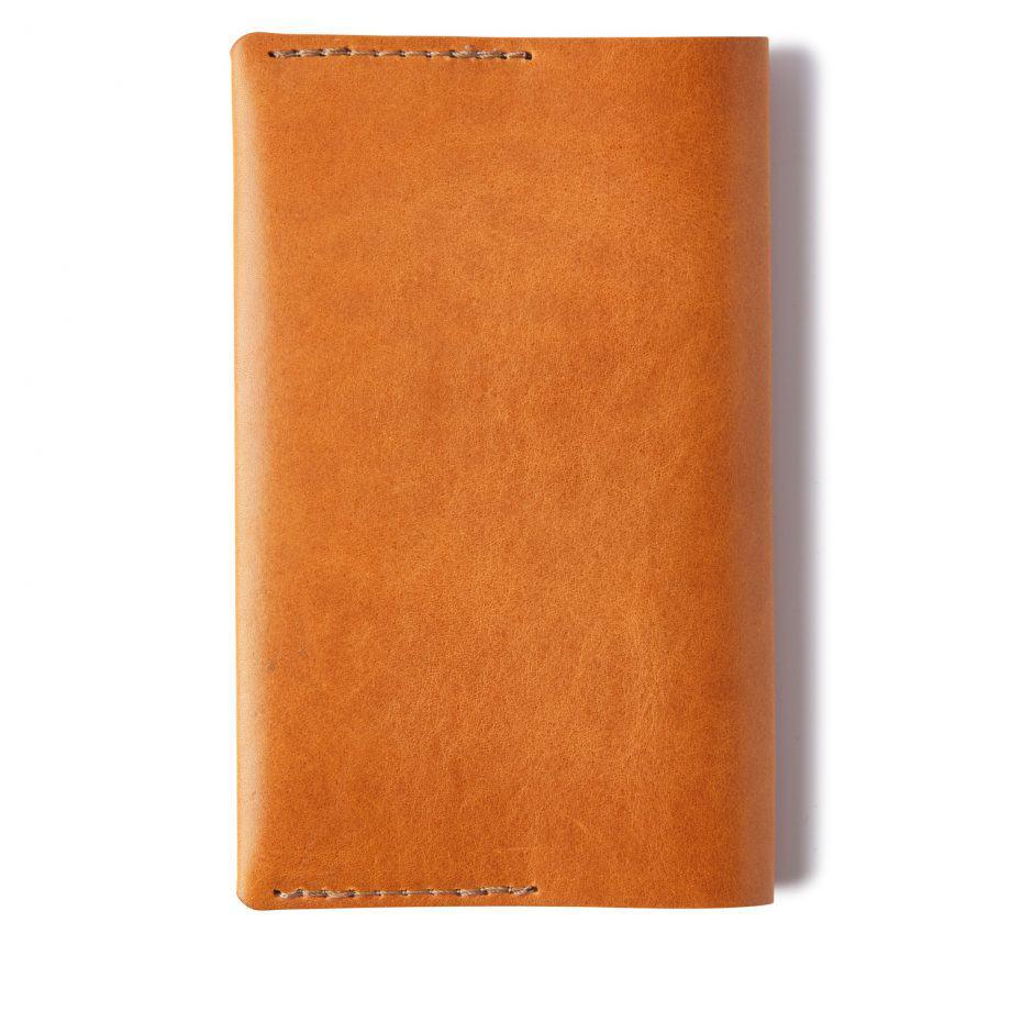 Castelijn Berens Notebook Moleskin liten cognac bakside