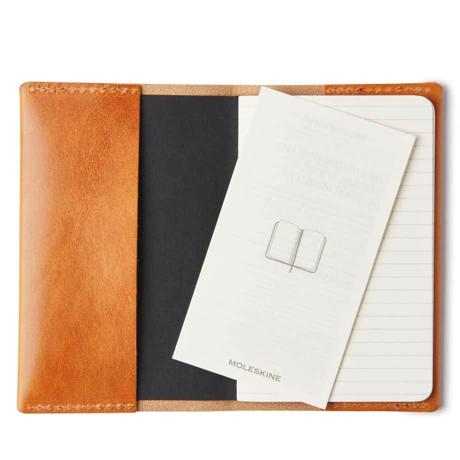 Castelijn Berens Notebook Moleskin liten cognac innside