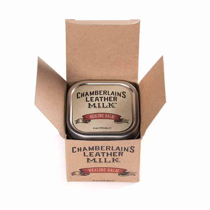 Chamberlain´s Leather Healing Balm - W-CLM-HB-4 - boks i eske