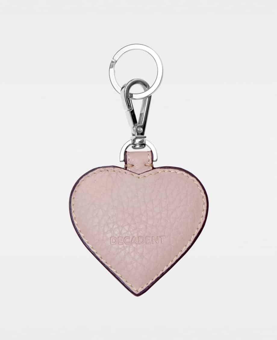 DE118 Decadent Heart Keyring Rose Forside