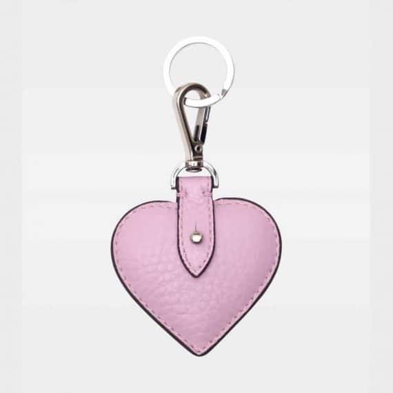 DE118 Decadent Heart Keyring pale violet forside