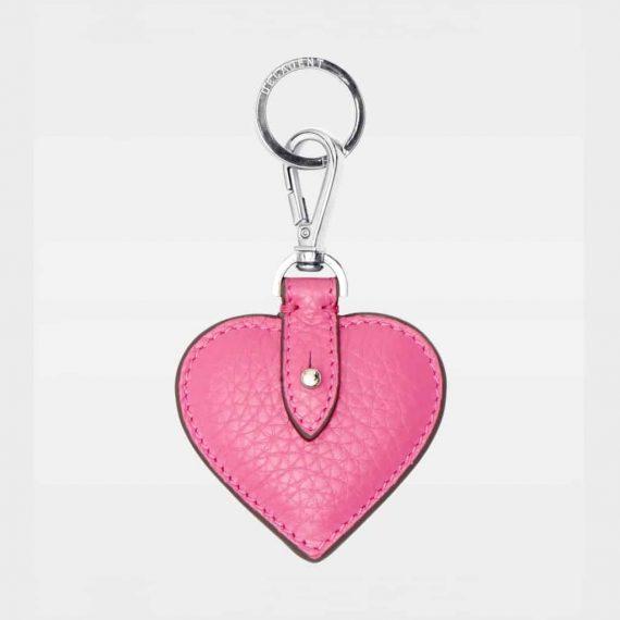DE118 Decadent Heart pink Keyring forside