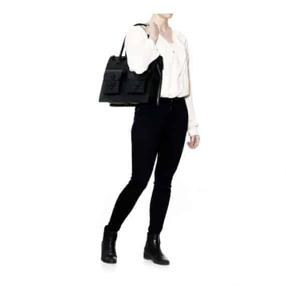 DE120-A Decadent Reba Working bag two pocket sort figur