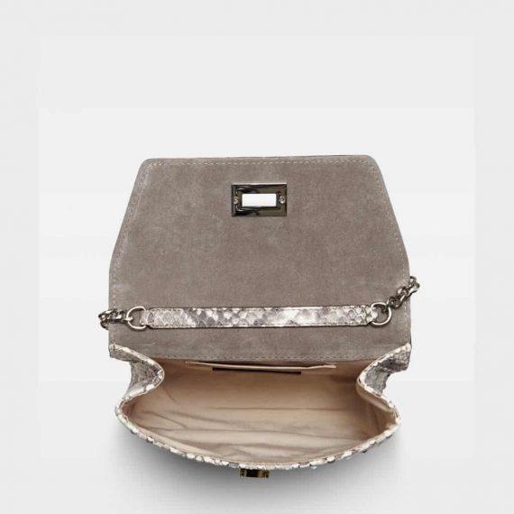 DE143 Decadent Cleva small pouch SNAKE innside