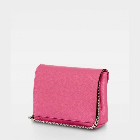 DE143 Decadent Cleva small pouch pink bakside