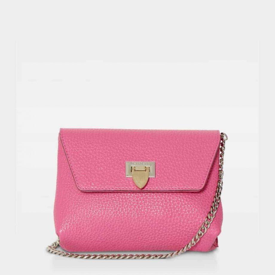 DE143 Decadent Cleva small pouch pink forside