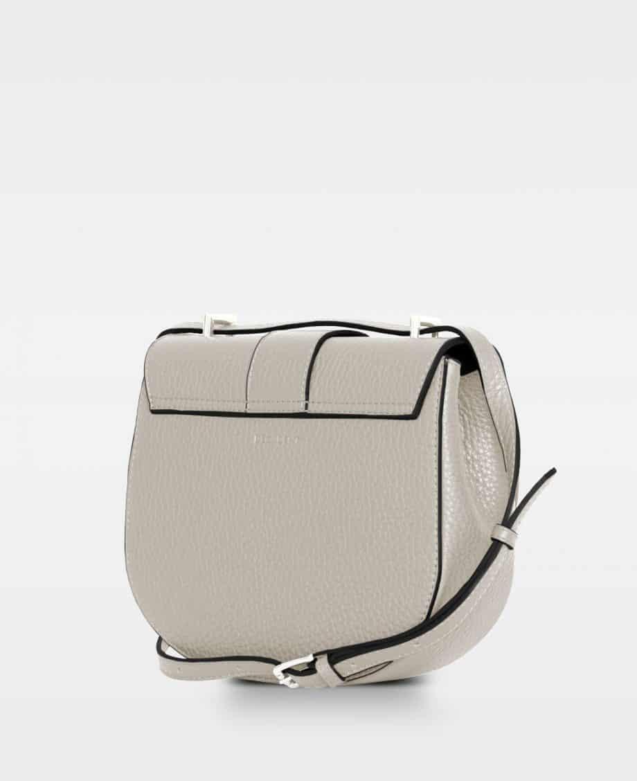 DE206 Kim satchel bag oat bakside