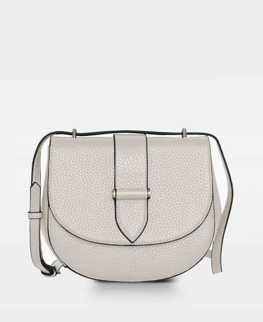 DE206 Kim satchel bag oat forside