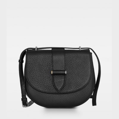 DE206 Kim satchel bag sort forside
