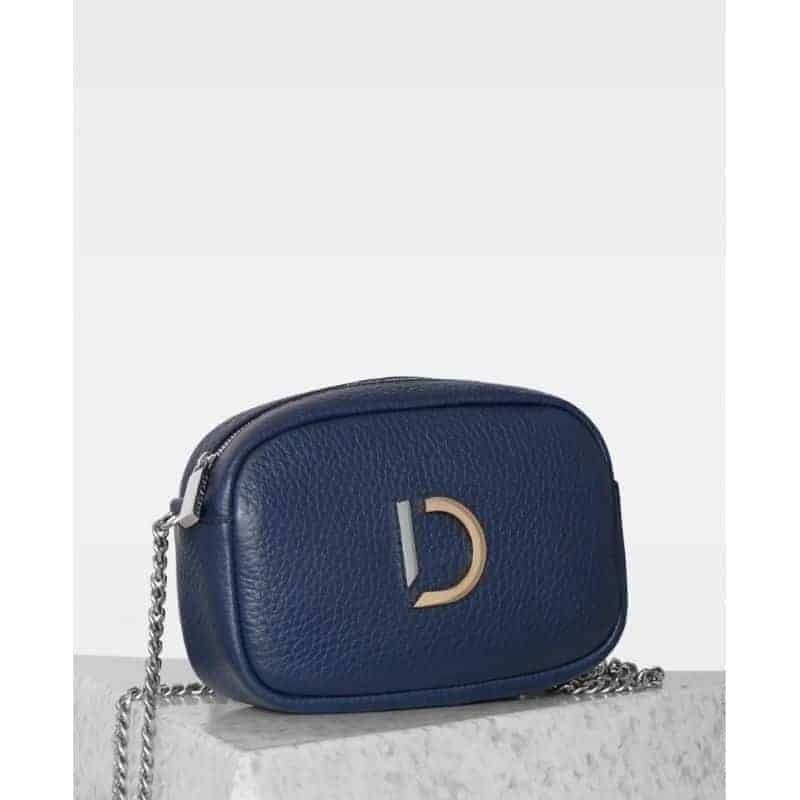 DE274-B Decadent Michelle tiny bag -navy forside