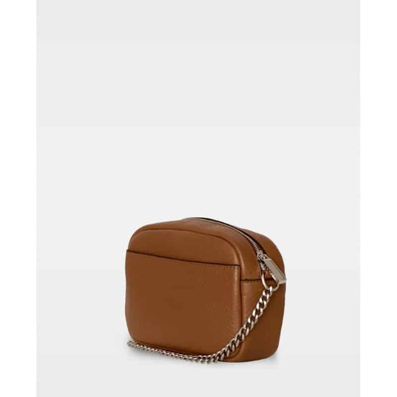 DE274-B Michelle tiny bag cognac bakfra