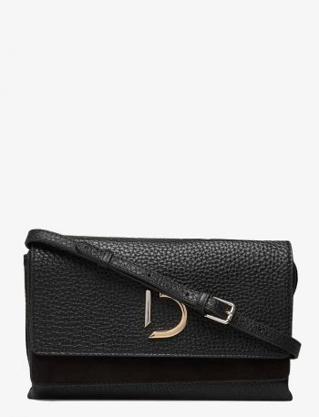 DE294 DECADENT Kristin Flap Bag Sort Forside