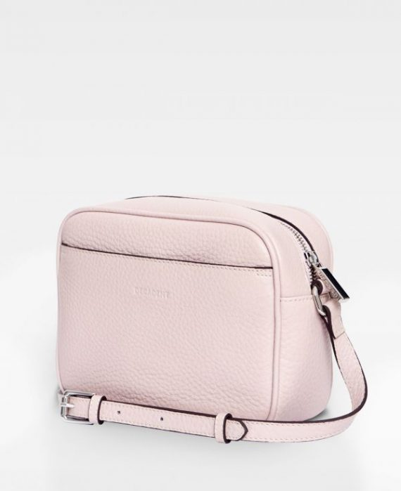 DE374 Decadent Polina cross body soft pink bakside