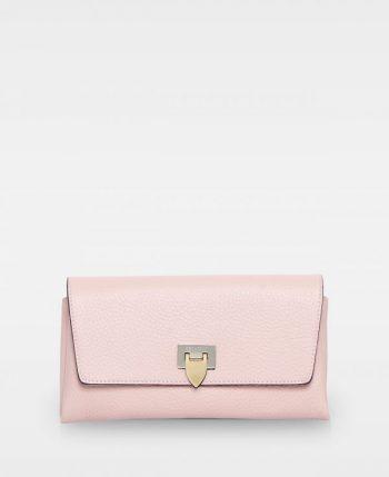 DE406 Decadent Nora clutch soft pink forside
