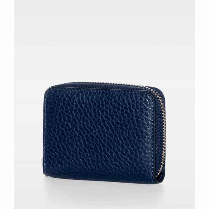 DE438 Essie Mini Zip Wallet navy bakfra