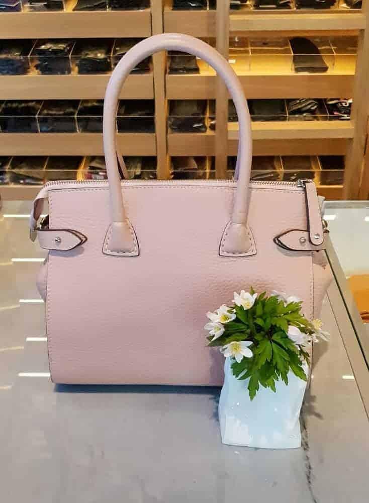 DE468 DECADENT Grace X-small shopper soft pink