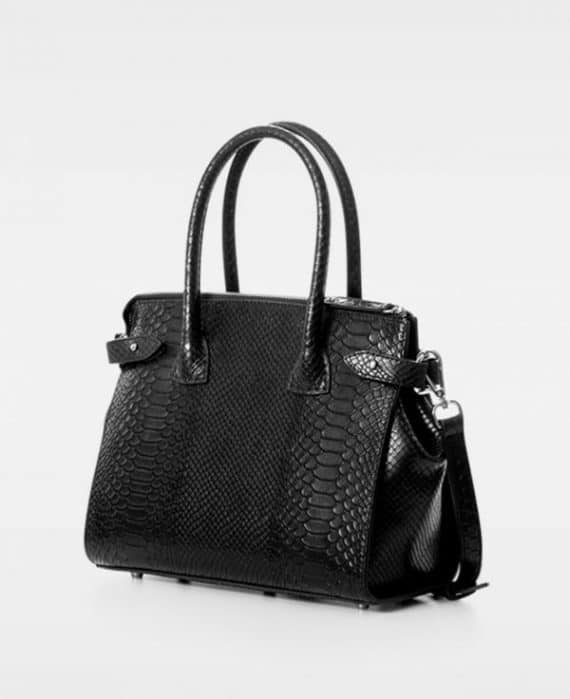 DE468 Decadent Grace x-small shopper anaconda sort bakside