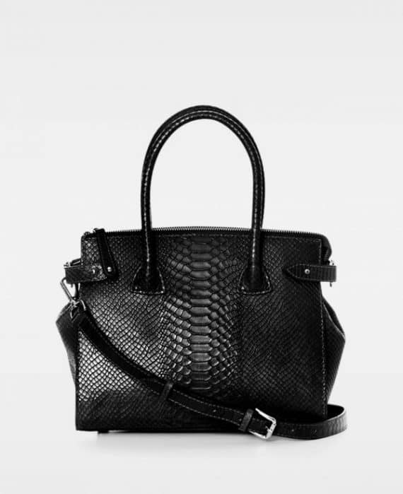 DE468 Decadent Grace x-small shopper anaconda sort forside