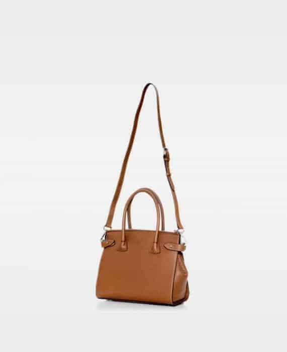 DE468 Decadent Grace x-small shopper cognac bakside