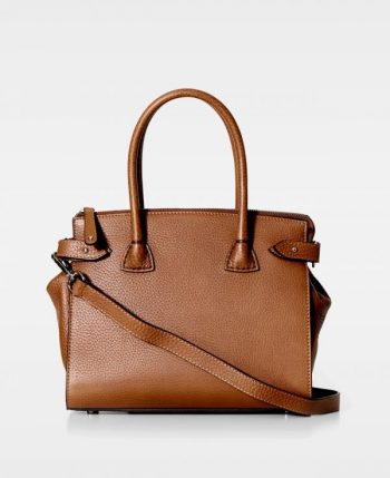 DE468 Decadent Grace x-small shopper cognac forside