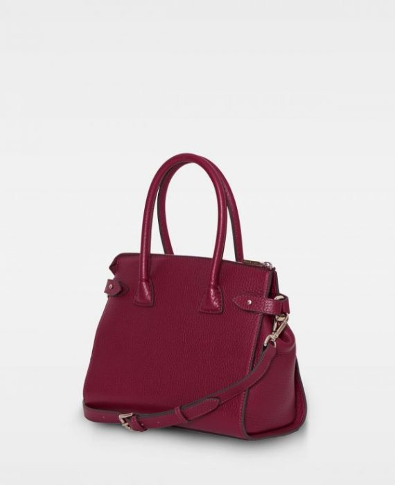 DE468 Decadent Grace x-small shopper oxblood bakside