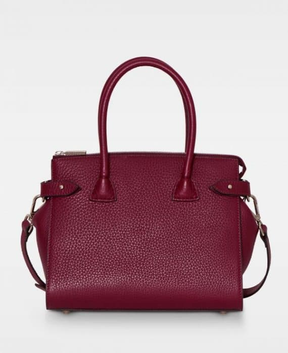 DE468 Decadent Grace x-small shopper oxblood forside