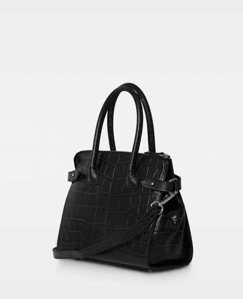 DE468 X-small shopper modell croco black side