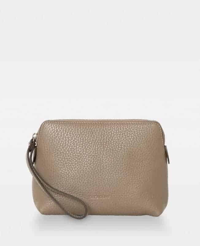 DE502 Decadent Hannah makeup purse sand forside
