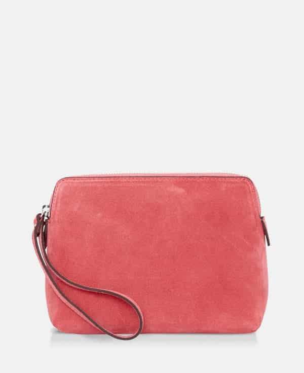 DE502 Decadent Hannah makeup purse suede blossom forside