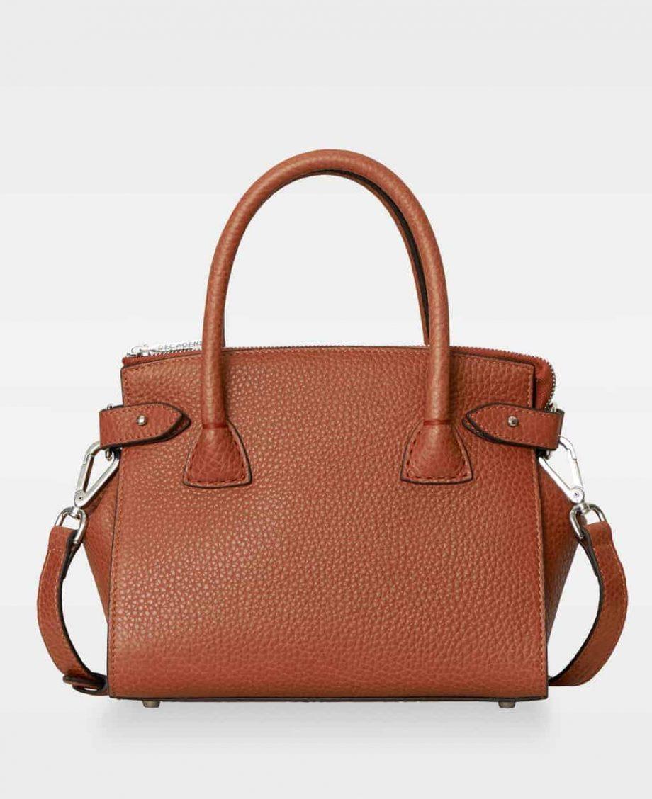 DE592-DECADENT Adele-tiny-shopper-rust-red-forside