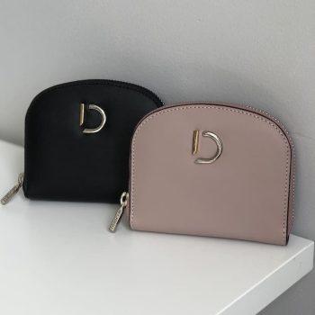DE703 - DECADENT Rita wallet - sort og rose