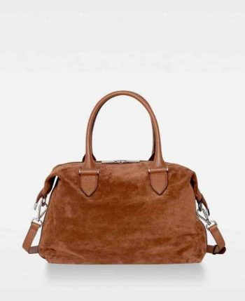 DE724 Lee Hold All Suede Cognac Forside