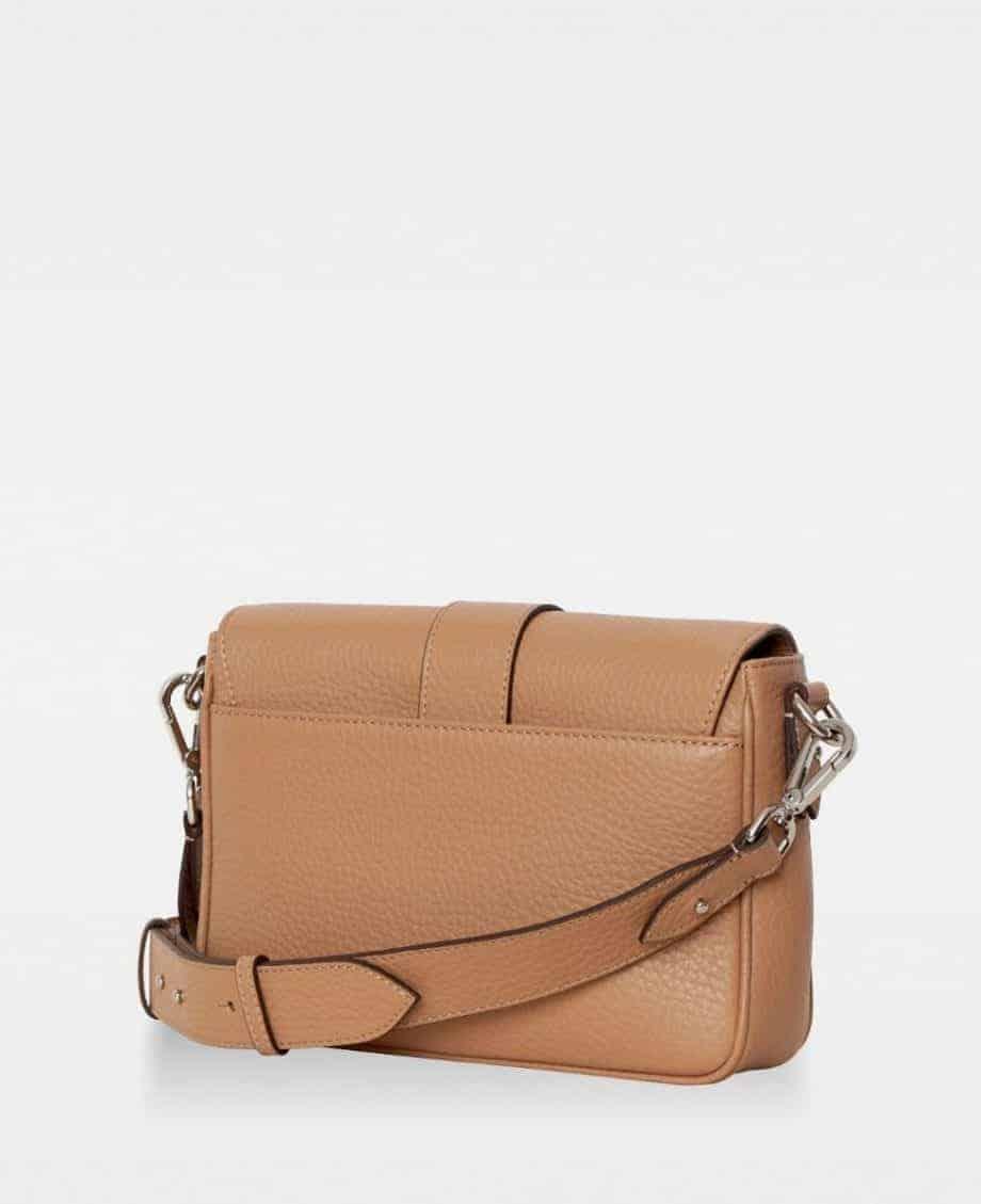 DE725 Nicky cross-body bag camel bakside