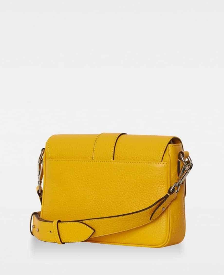 DE725 Nicky cross-body bag vibrant yellow bakside