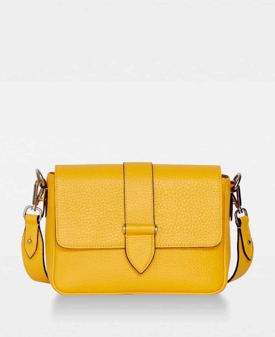 DE725 Nicky cross-body bag vibrant yellow forside
