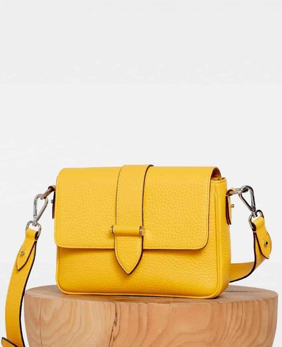DE725 Nicky cross-body bag vibrant yellow side