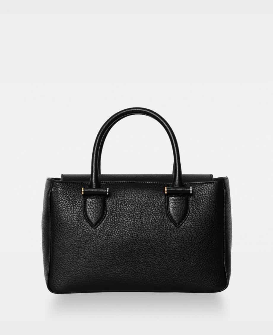 DE738 Olivia Big Handbag Sort Forside