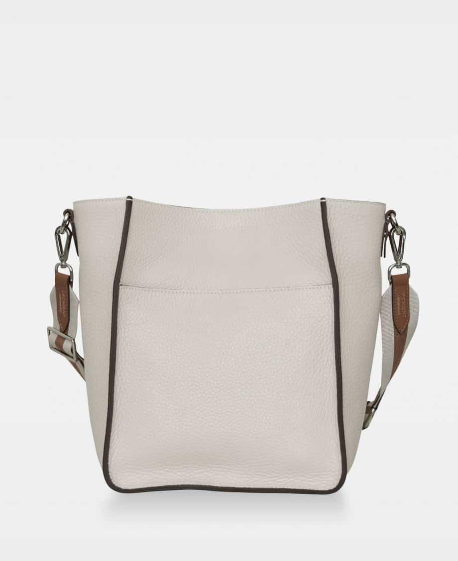 DE754 Sheila Bucket Bag Oat Forside