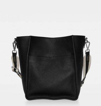 DE754 Sheila Bucket Bag Sort Forside