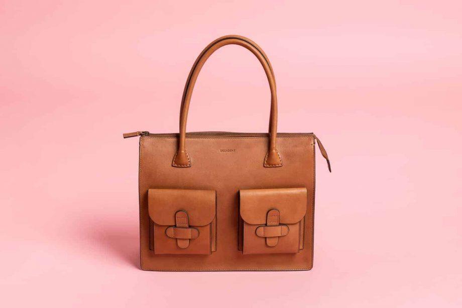 DECADENT Reba working bag rosa bakgrunn