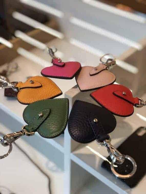 Decadent HEART key ring 118
