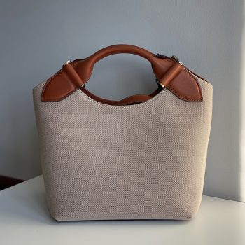 Decadent Mille Small Canvas Tote Cognac forside