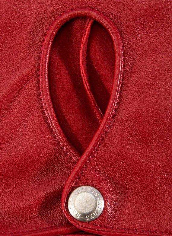 Dents THRUXTON kjorehanske berry red 7-3008 (2)