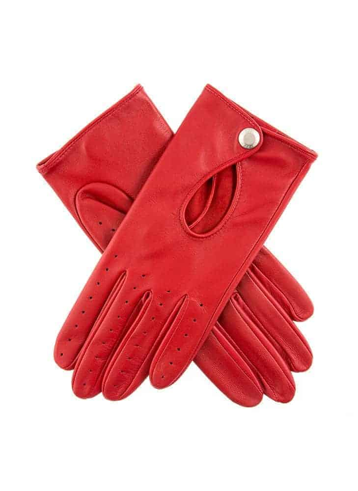 Dents THRUXTON kjorehanske berry red 7-3008 (3)
