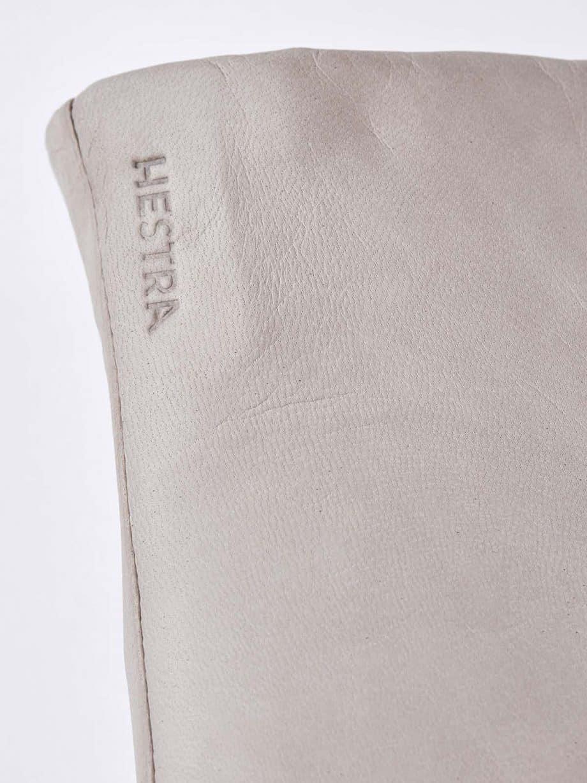 Hestra Elisabeth Natural Grey Detaljer