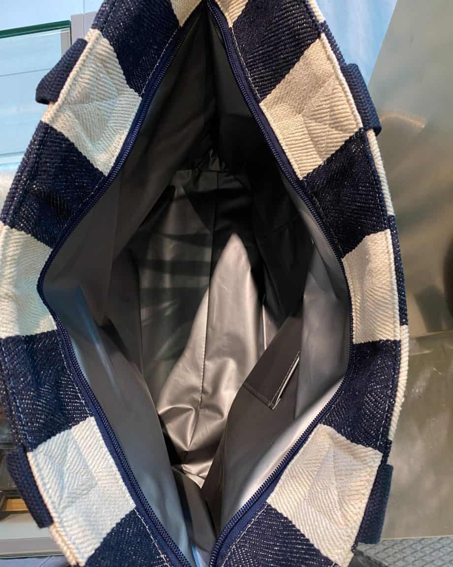 4311114-NAVY Tote Bag Cooler Innside