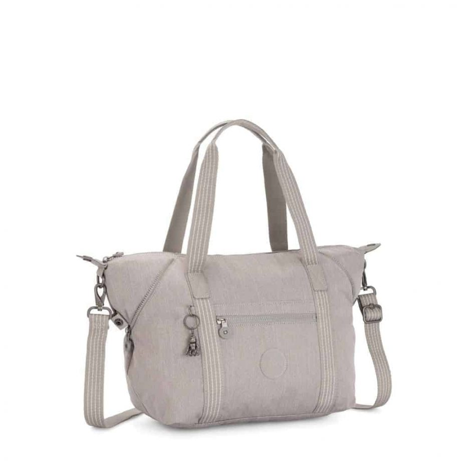 KI312247O Kipling ART Grey Beige Pep side
