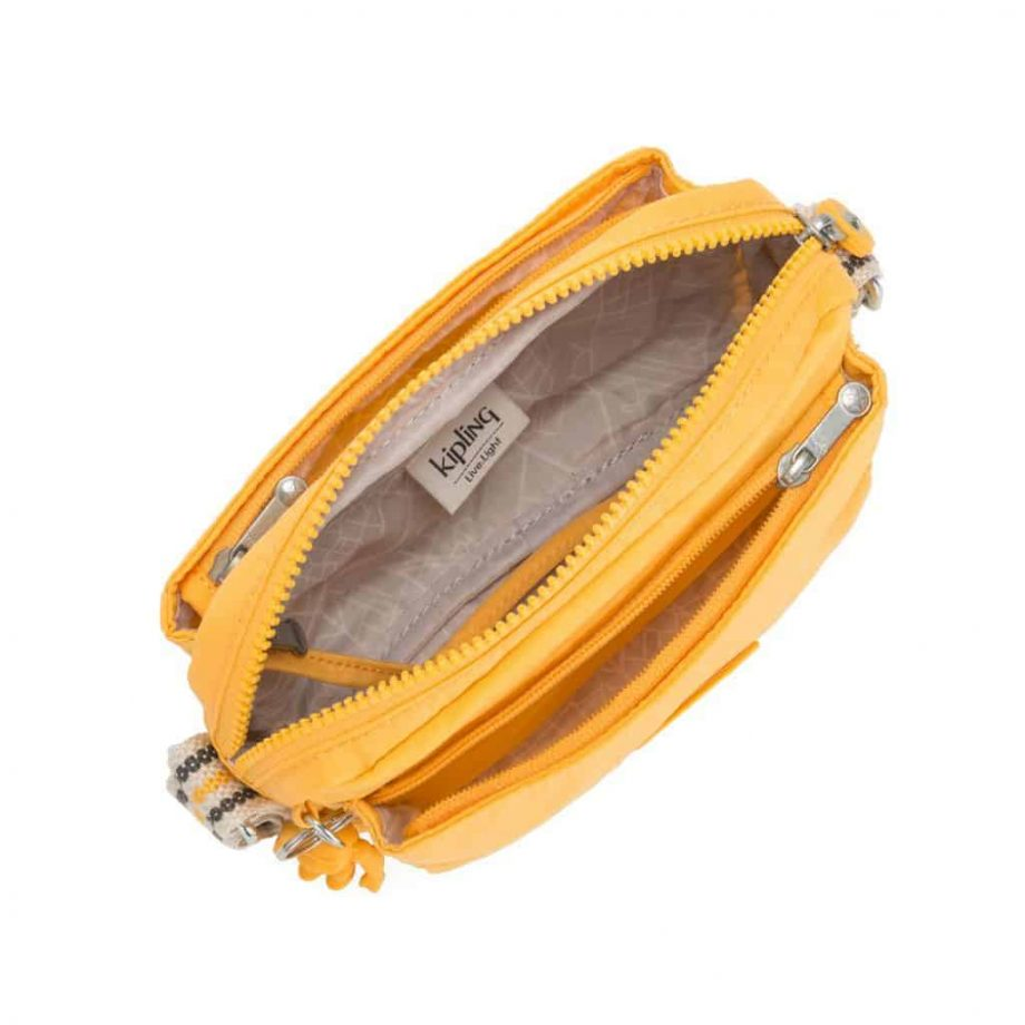 Kipling Abanu Vivid Yellow open