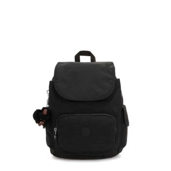 Kipling CITY PACK S True Black forside