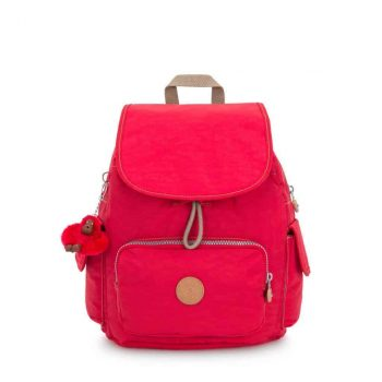 Kipling CITY PACK S True Red forside
